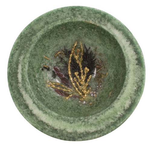 """Evergreen 5.5"""" Wax Pottery Vessel by Habersham Candle Co."""