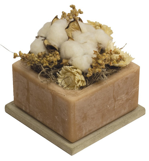 Cotton Gin Geo Wax Pottery by Habersham Candle Co.