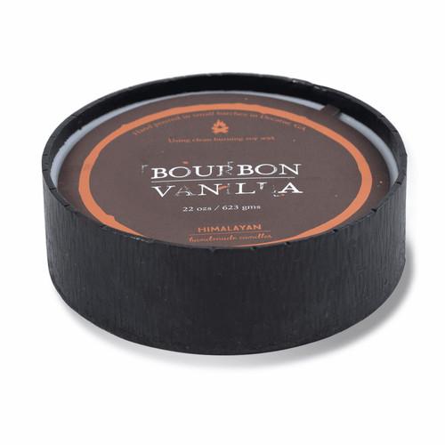 Bourbon Vanilla 22 oz. Forged Blacksmith Bowl Candle by Himalayan Candles