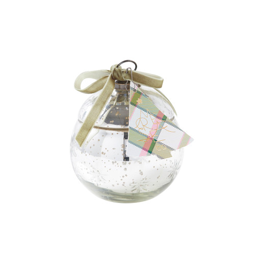 Seapines Medium Ornament Candle by Mer-Sea