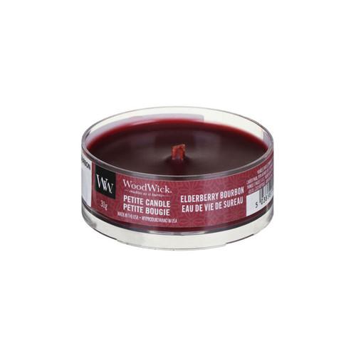 Elderberry Bourbon WoodWick Petite Candle