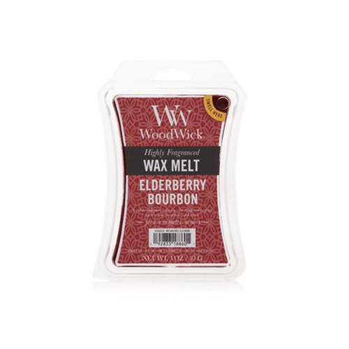 Elderberry Bourbon WoodWick 3 oz. Hourglass Wax Melt