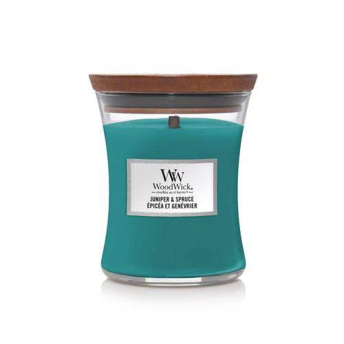 Juniper & Spruce WoodWick Medium Hourglass Candle