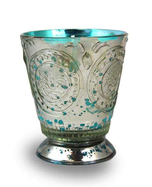 Rainbarrel 8 oz. Fleur de Lys Candle by Himalayan Candles