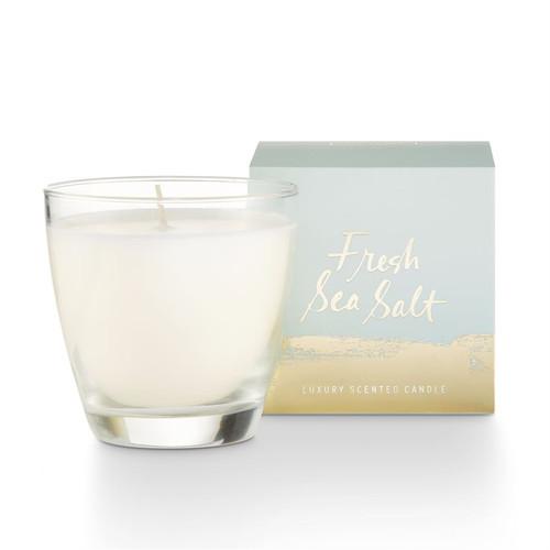 Fresh Sea Salt Demi Boxed Glass Illume Candle