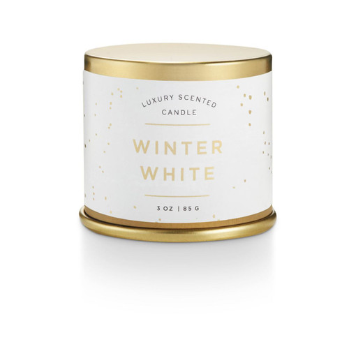Winter White Demi Tin Illume Candle