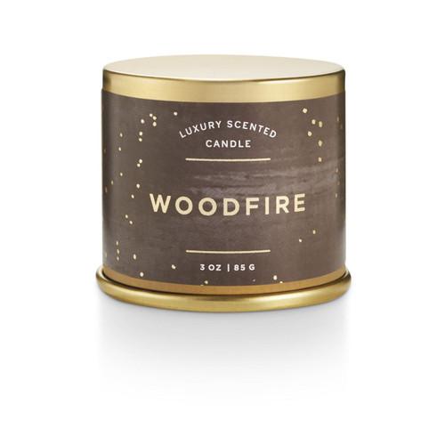 Woodfire Demi Tin Illume Candle