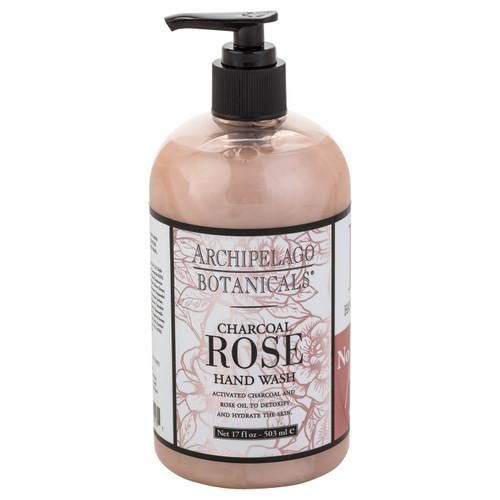 Charcoal Rose 17 oz. Hand Wash by Archipelago