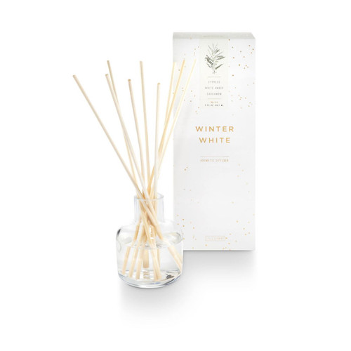 Winter White Aromatic Diffuser by Illume Candle