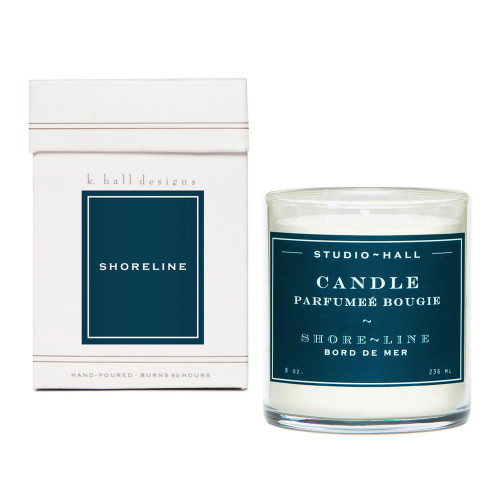 Shoreline 8 oz. Jar Candle by K. Hall Designs