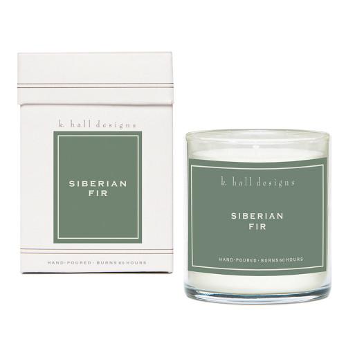 Siberian Fir 8 oz. Jar Candle by K. Hall Designs