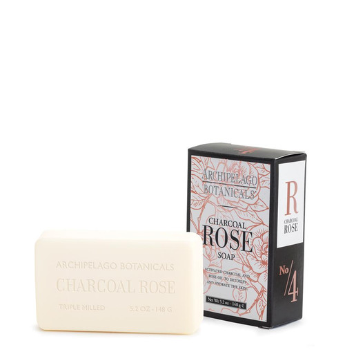 Charcoal Rose 5.2 oz.Soap by Archipelago