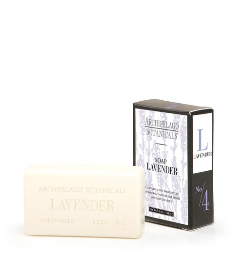Lavender 5.2 oz. Soap  by Archipelago
