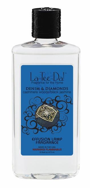16 oz.  Denim & Diamonds La Tee Da Fragrance Oil
