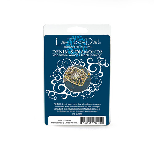 Denim & Diamonds Magic Melts by La Tee Da