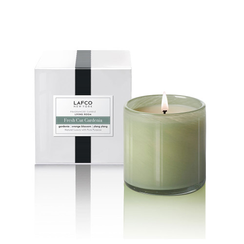 Fresh Cut Gardenia 6.5 oz. Classic Candle by Lafco New York