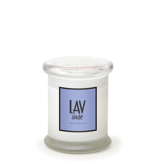 Lavande 8.6 oz. Frosted Jar Candle by Archipelago