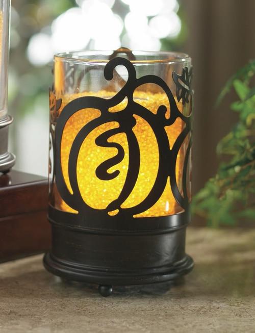 Pumpkins Ooh La Lamp Jacket by La Tee Da