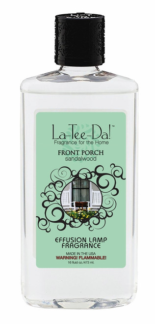 16 oz.  Front Porch Sandalwood La Tee Da Fragrance Oil