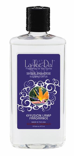16 oz.  Sheer Paradise Sugared Citrus La Tee Da Fragrance Oil