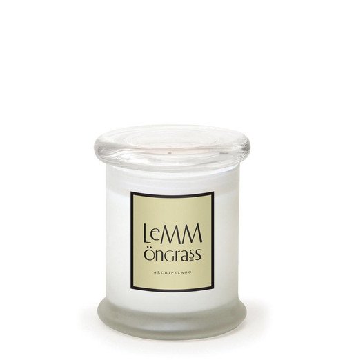 Lemmongrass 8.6 oz. Frosted Jar Candle by Archipelago