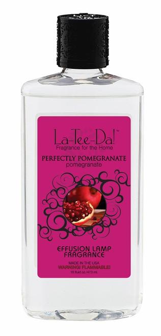 16 oz.  Perfectly Pomegranate La Tee Da Fragrance Oil