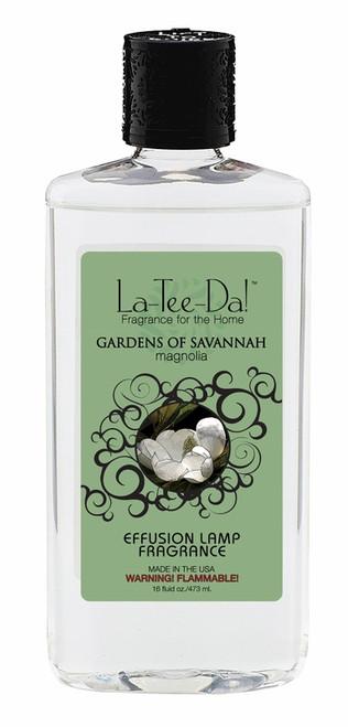 16 oz.  Gardens of Savannah Magnolia La Tee Da Fragrance Oil
