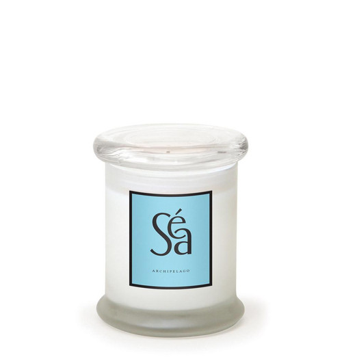 Sea 8.6 oz. Frosted Jar Candle by Archipelago