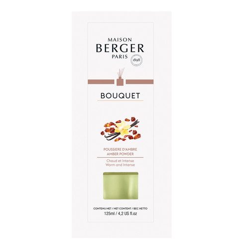 Amber Powder Cube Reed Diffuser - Maison Berger by Lampe Berger