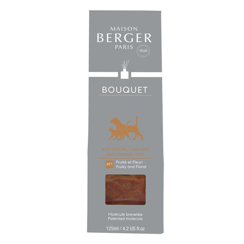 Anti-Pets Odour No. 1 - Fruity & Floral Reed Diffuser - Maison Berger by Lampe Berger