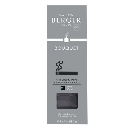 Anti-Tobacco Odour No. 1 - Woody Reed Diffuser - Maison Berger by Lampe Berger