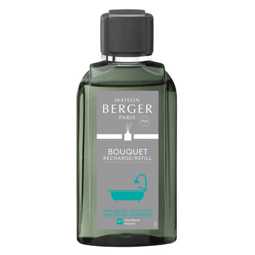 Anti-Bathroom Odour No. 1 - Aquatic Reed Diffuser Refill - Maison Berger by Lampe Berger