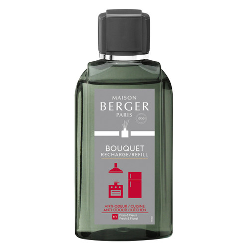 Anti-Kitchen Odour No. 1 - Fresh & Floral Reed Diffuser Refill - Maison Berger by Lampe Berger