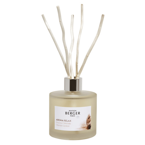 Relax 180 ml (6.08 oz.) Reed Diffuser - Maison Berger by Lampe Berger