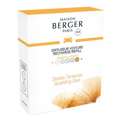 Aroma Energy Car Diffuser Ceramic Refill - Maison Berger by Lampe Berger