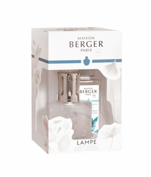 Aroma Happy Gift Set with Lamp and 180 ml (6.08 oz.) Happy Fragrance Oil - Lampe Berger by Maison Be