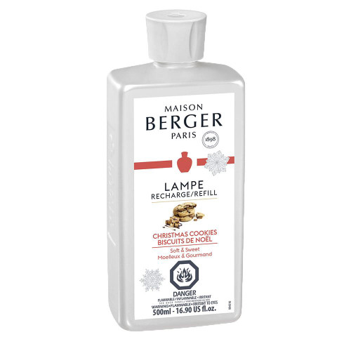 Christmas Cookies  500 ml (16.9 oz.) Fragrance Lamp Oil - Lampe Berger by Maison Berger