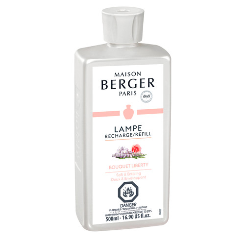 Bouquet Liberty 500 ml (16.9 oz.) Fragrance Lamp Oil - Lampe Berger by Maison Berger