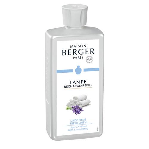 Fresh Linen 500 ml (16.9 oz.) Fragrance Lamp Oil - Lampe Berger by Maison Berger