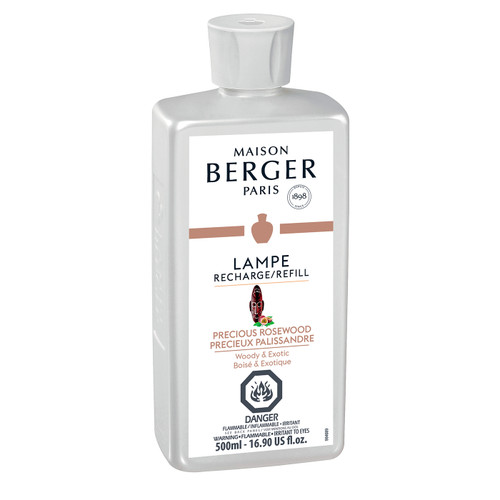 Precious Rosewood 500 ml (16.9 oz.) Fragrance Lamp Oil - Lampe Berger by Maison Berger