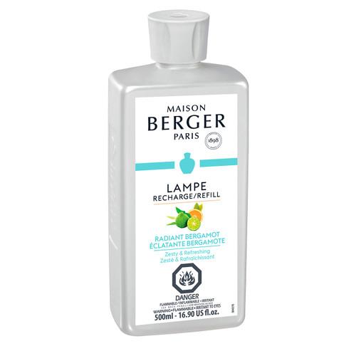 Radiant Bergamot 500 ml (16.9 oz.) Fragrance Lamp Oil - Lampe Berger by Maison Berger