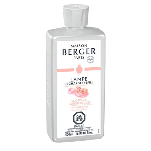 Silk Touch 500 ml (16.9 oz.) Fragrance Lamp Oil - Lampe Berger by Maison Berger
