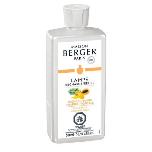 Tropical Mango 500 ml (16.9 oz.) Fragrance Lamp Oil - Lampe Berger by Maison Berger