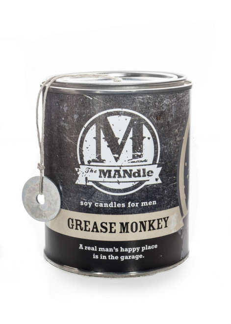 Grease Monkey 15 oz. Paint Can MANdle by Eco Candle Co.
