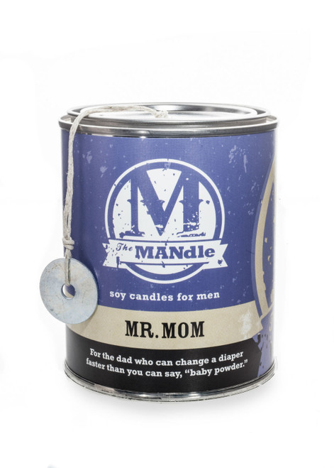 Mr. Mom 15 oz. Paint Can MANdle by Eco Candle Co.