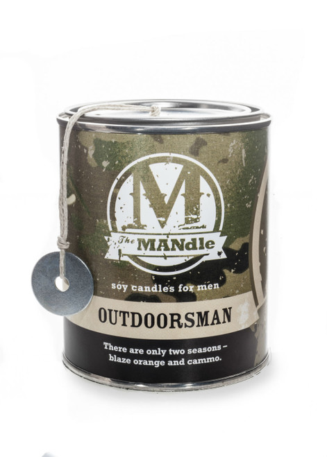 Outdoorsman 15 oz. Paint Can MANdle by Eco Candle Co.
