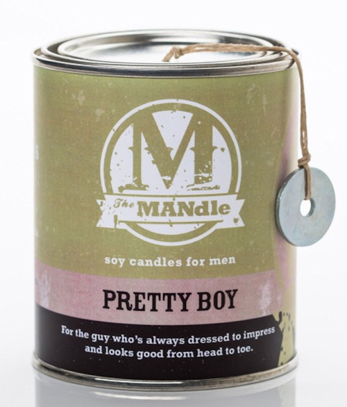 Pretty Boy 15 oz. Paint Can MANdle by Eco Candle Co.