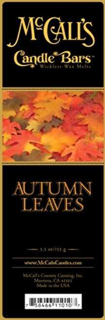 Autumn Leaves McCall's Candle Bar