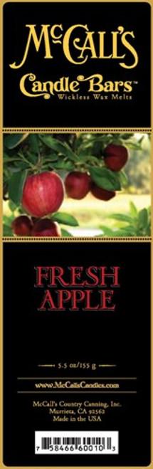 Fresh Apple McCall's Candle Bar