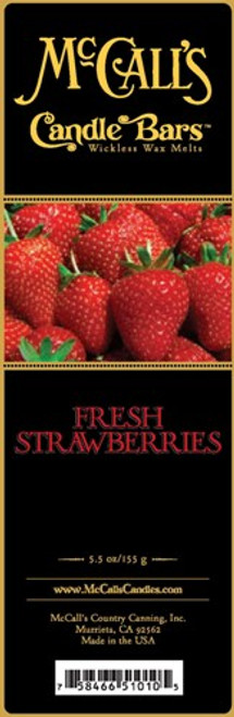 Fresh Strawberries McCall's Candle Bar